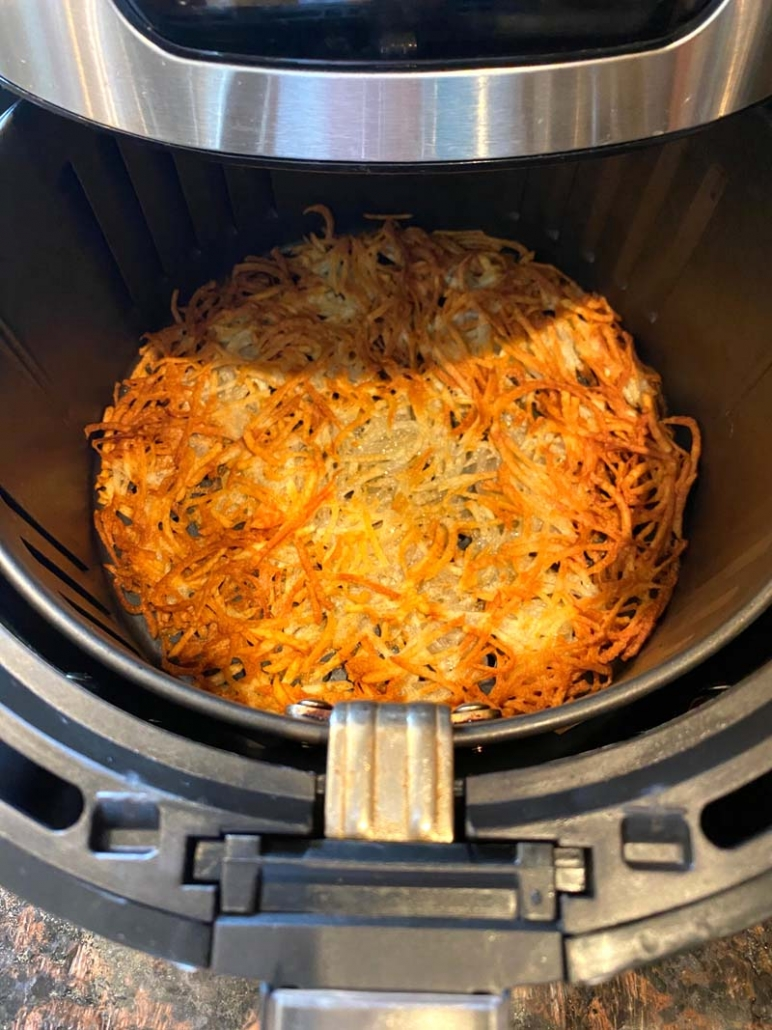easy air fryer hashbrowns recipe