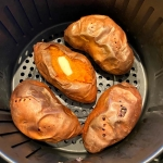 Air Fryer Baked Sweet Potatoes
