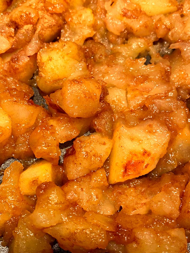 Healthy Fried Apples Recipe