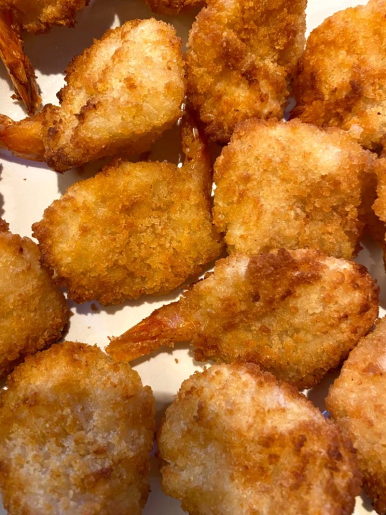 frozen breaded shrimp
