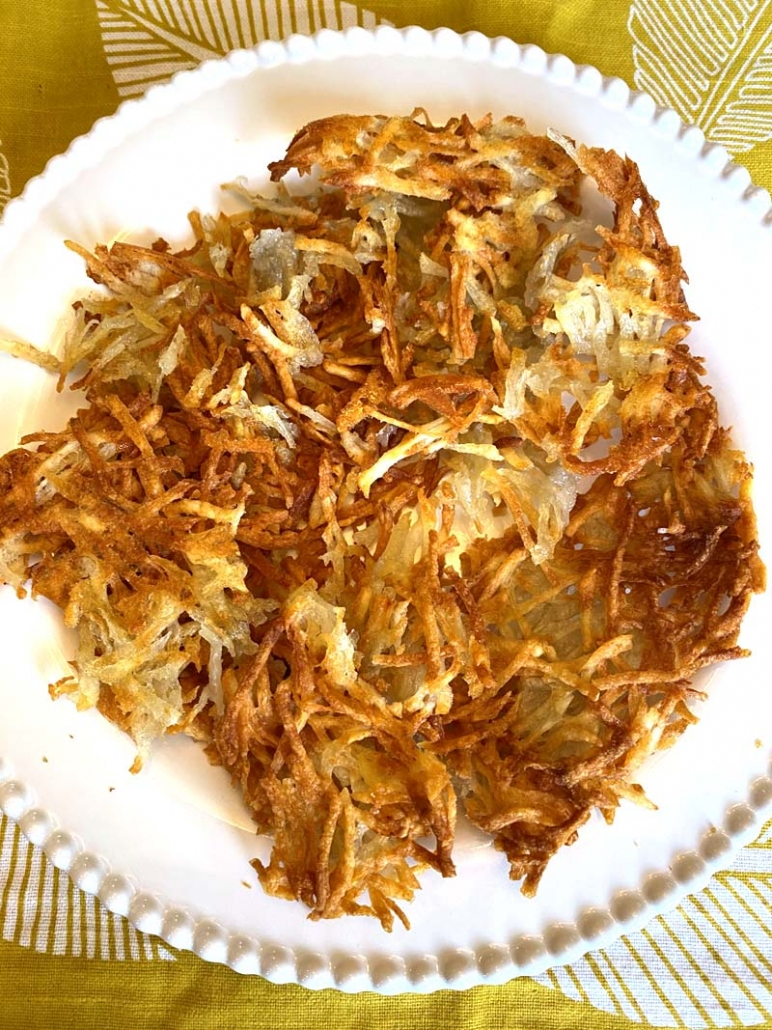 Air Fryer Hashbrowns From Scratch