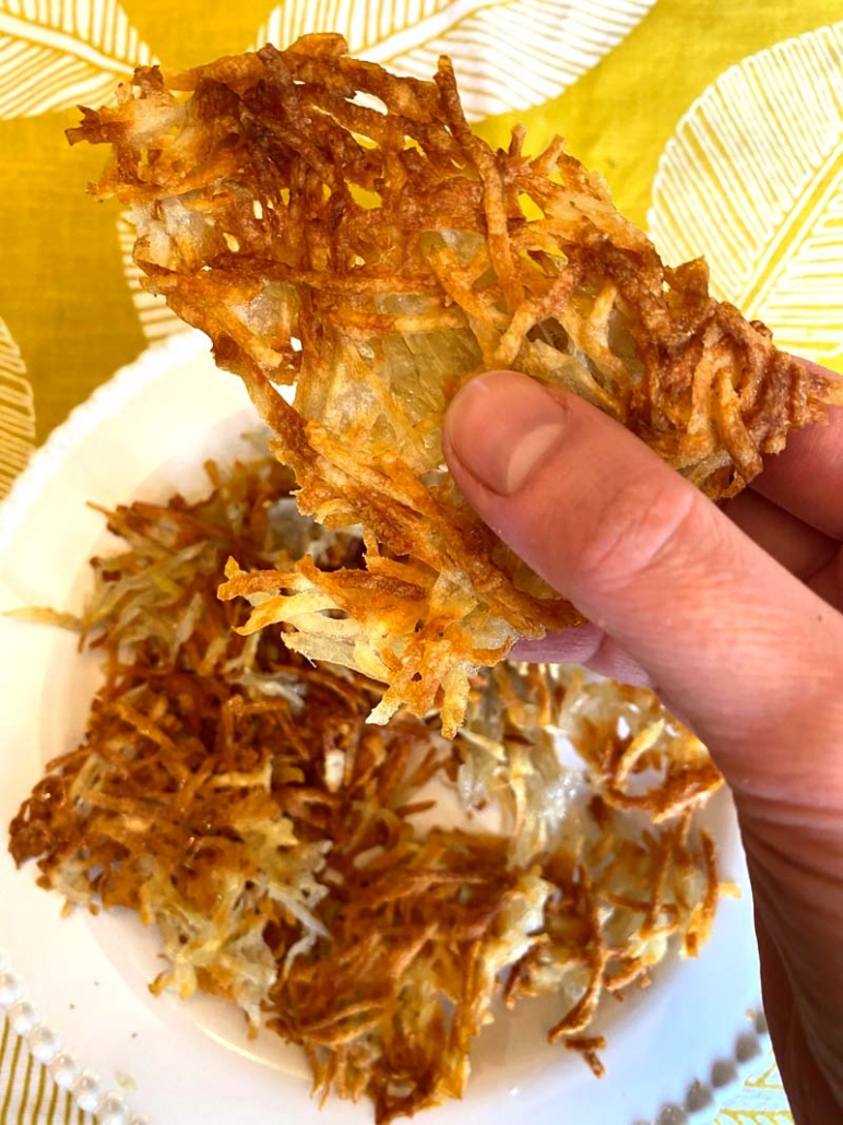 crispy homemade hashbrowns