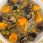 Instant Pot Mushroom Sweet Potato Soup