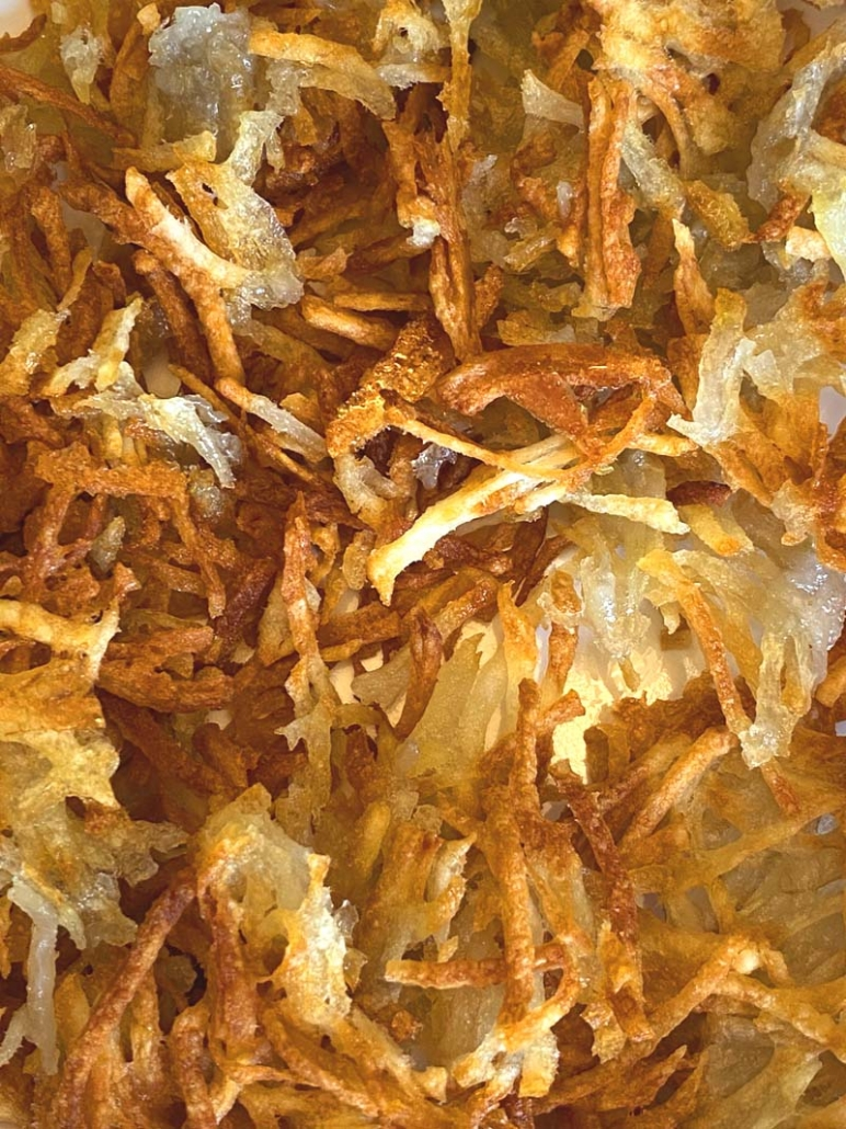 very crispy homemade hashbrowns recipe