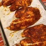 Baked Blackened Tilapia