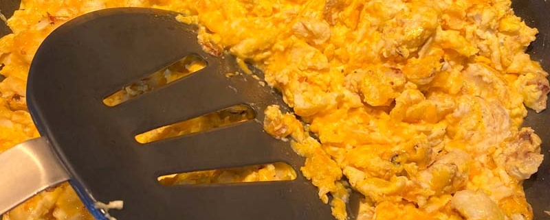 Cauliflower Scrambled Eggs