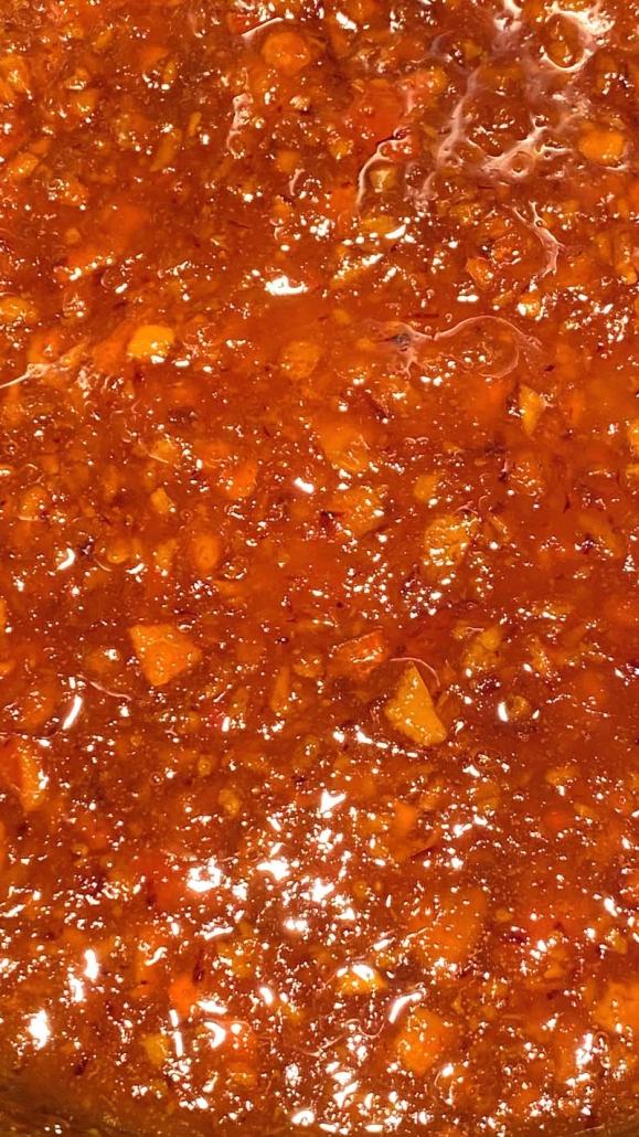 Orange Marmalade in Instant Pot