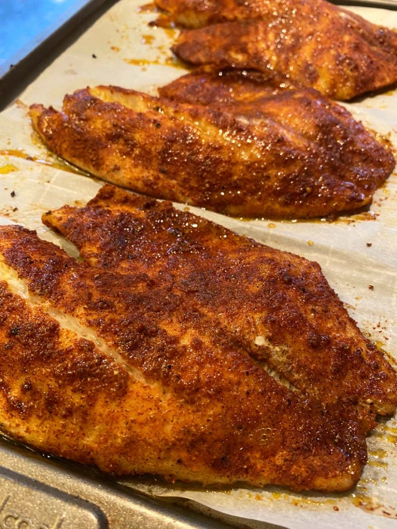 baked tilapia in the oven