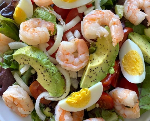 Shrimp Avocado Egg Salad