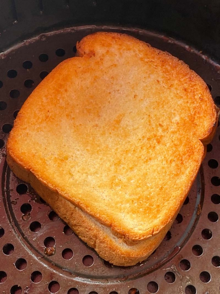 air fried grilled cheese
