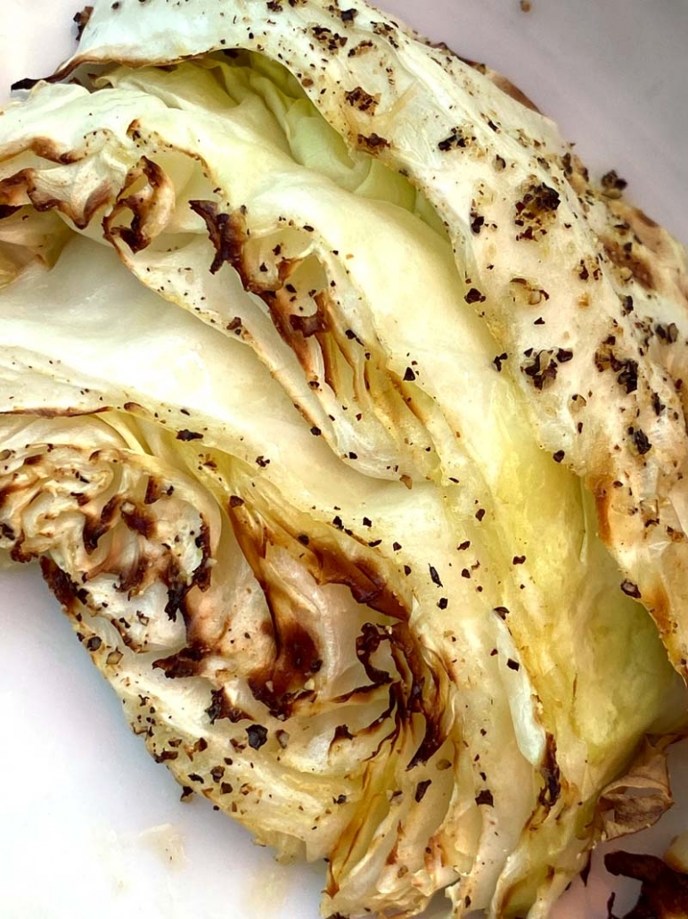 Roasted Cabbage Wedge