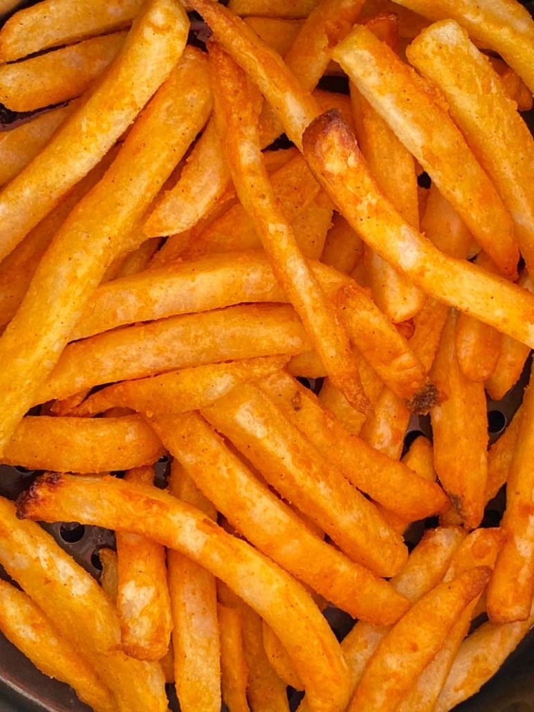 crispy golden french fries
