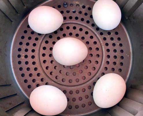 Air Fryer Hard Boiled Eggs