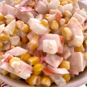 Imitation Crab And Canned Corn Salad Recipe