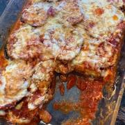 Keto Baked Eggplant Parmesan Recipe
