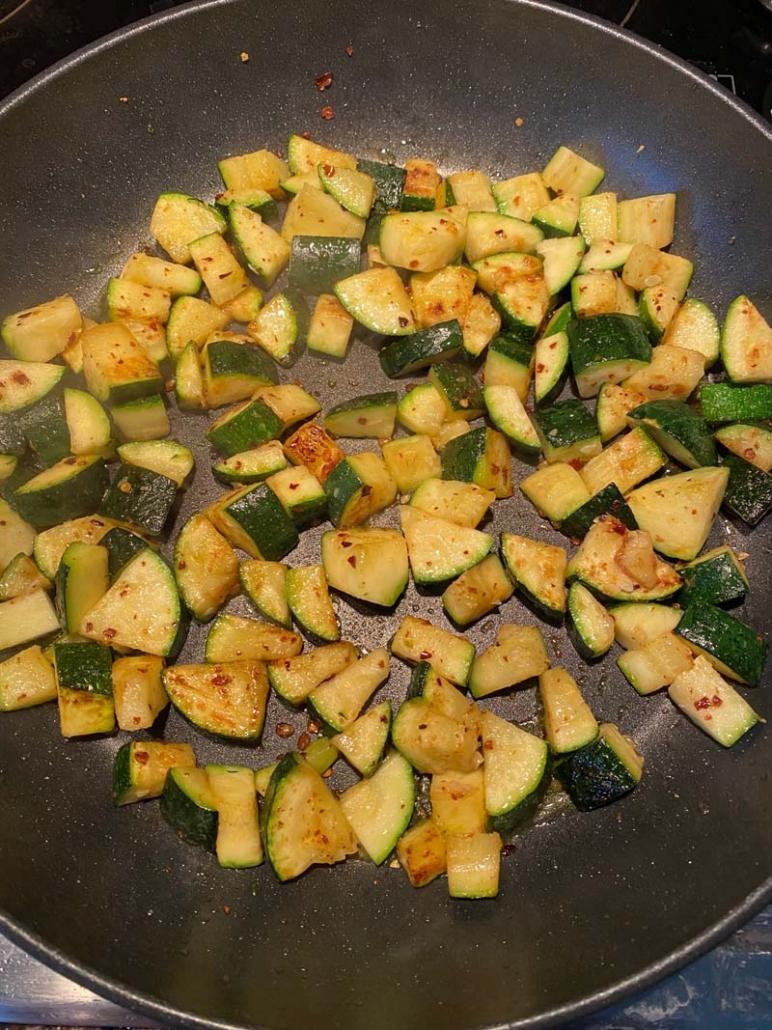 Healthy Pan-Fried Zucchini Recipe