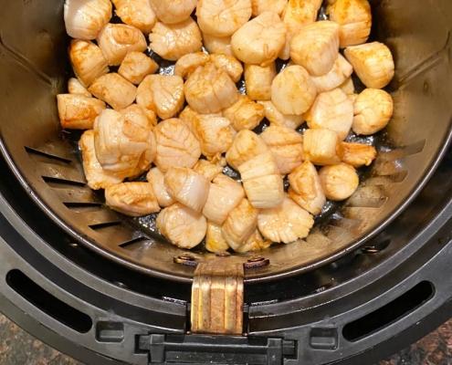 Air Fryer Scallops Recipe
