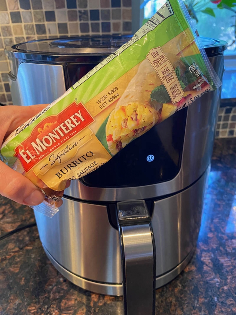 Cooking Frozen Breakfast Burrito In Air Fryer