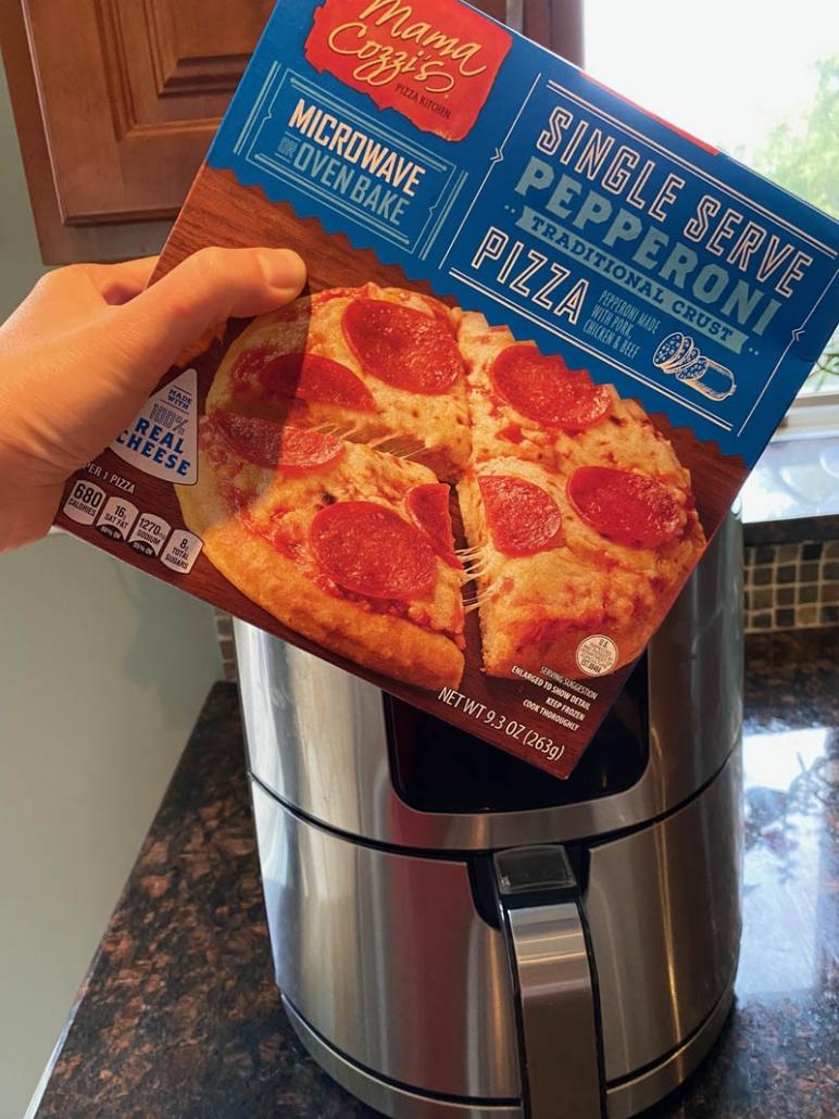 single serve pepperoni pizza
