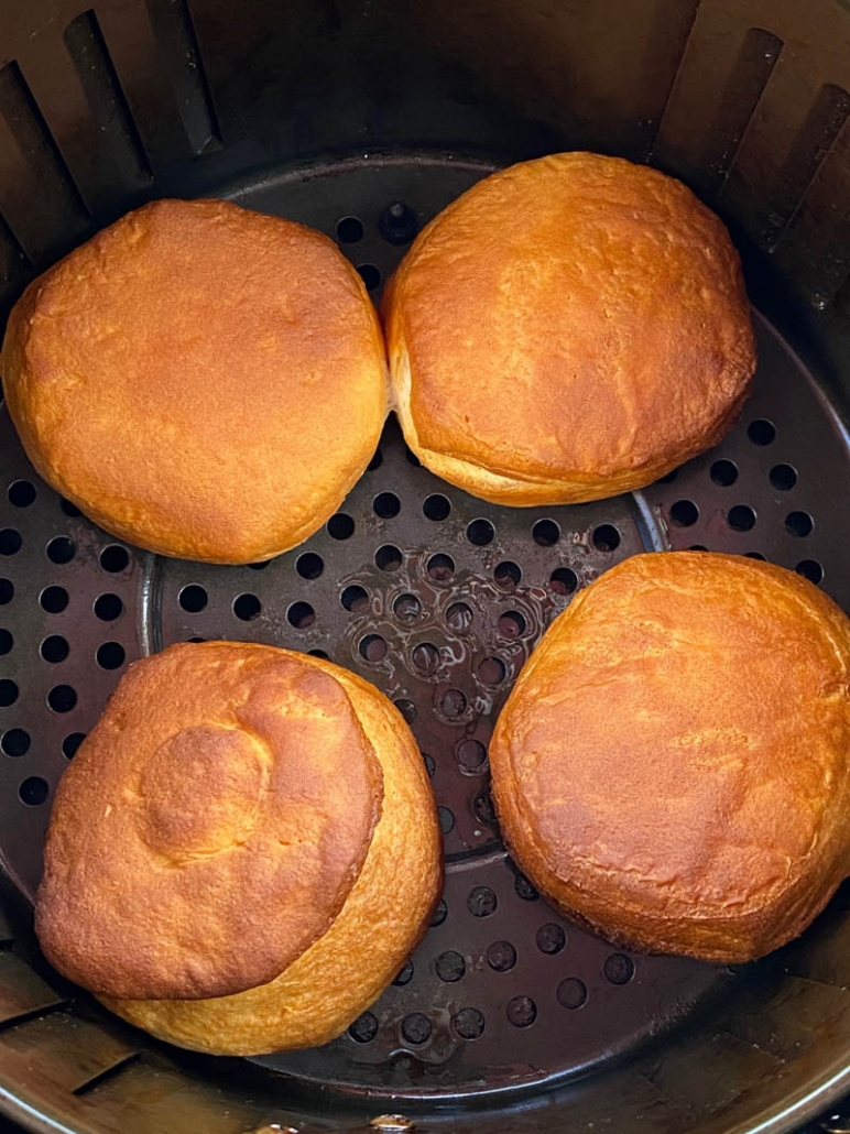 air fryer biscuits from a can