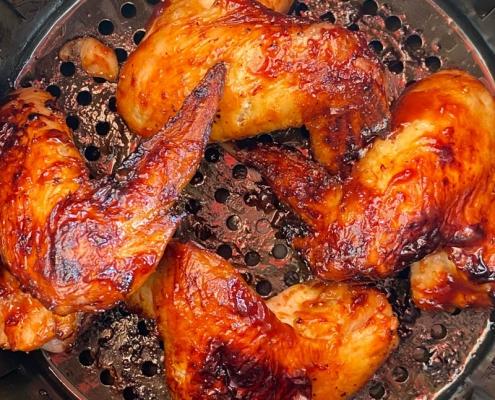 Air Fryer BBQ Chicken Wings Recipe