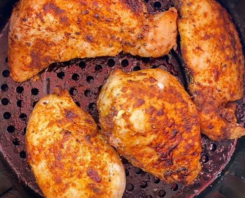 Air Fryer Boneless Skinless Chicken Breasts