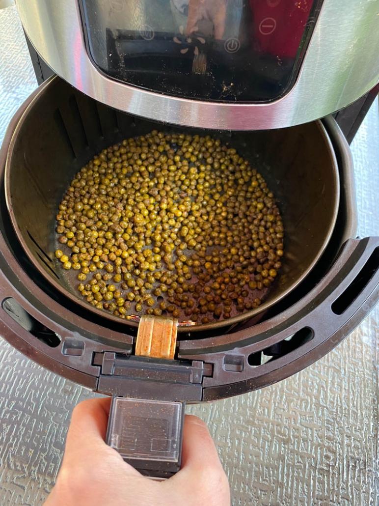 roasting sweet peas