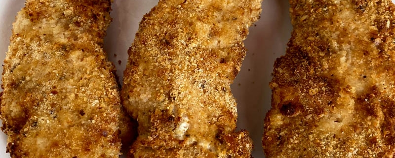 Air Fryer Breaded Chicken Tenderloins