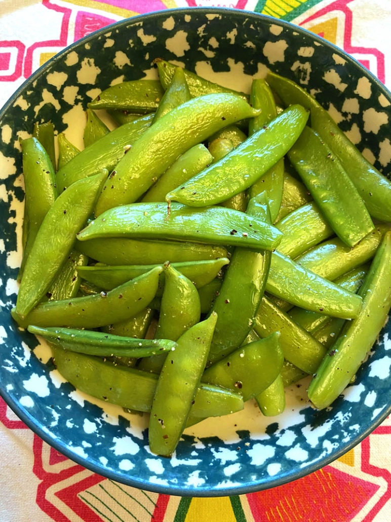 sugar snap peas in the instant pot
