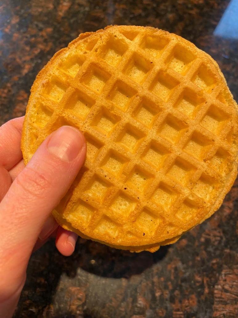 air fried waffle