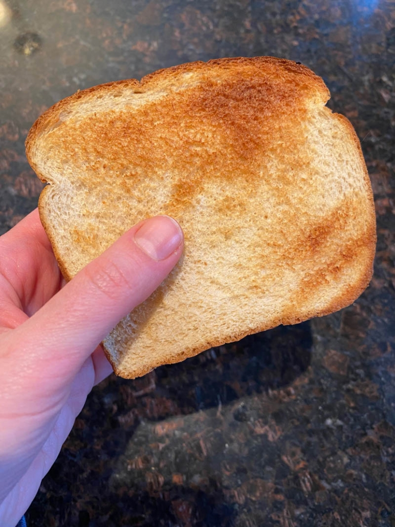 air fryer toasted bread