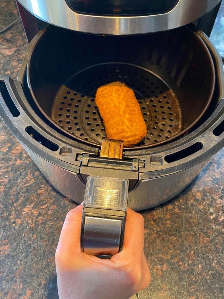 air fried chicken cordon bleu