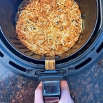 Air Fryer Frozen Hashbrowns