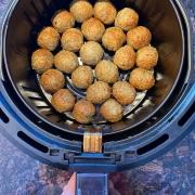 Air Fryer Frozen Meatballs