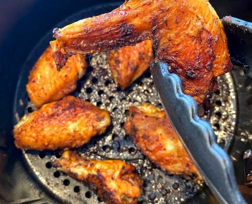 Air Fryer Frozen Chicken Wings Recipe