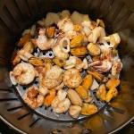 Air Fryer Frozen Seafood Medley Mix