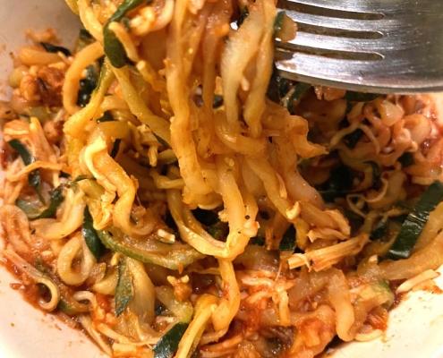 Air Fryer Frozen Zoodles Zucchini Noodles
