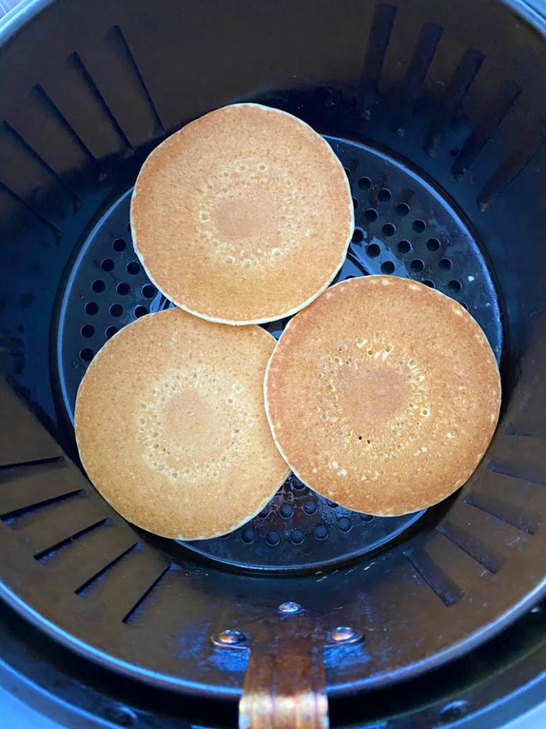 eggo frozen pancakes in air fryer