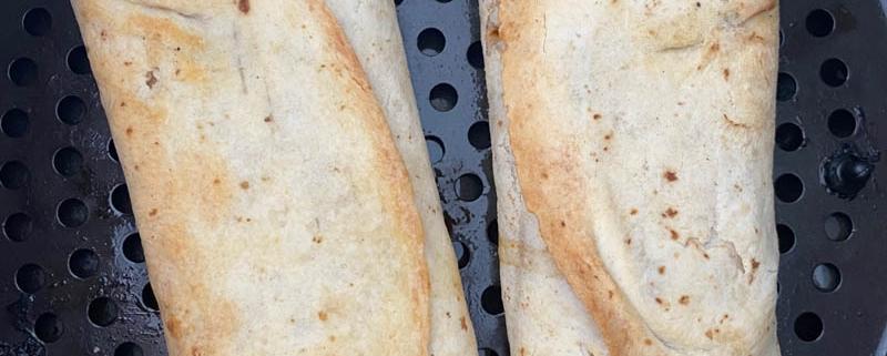 Air Fryer Frozen Trader Joe's Chicken Burritos