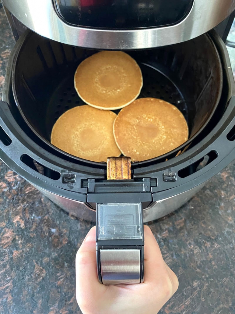 air fryer pancakes
