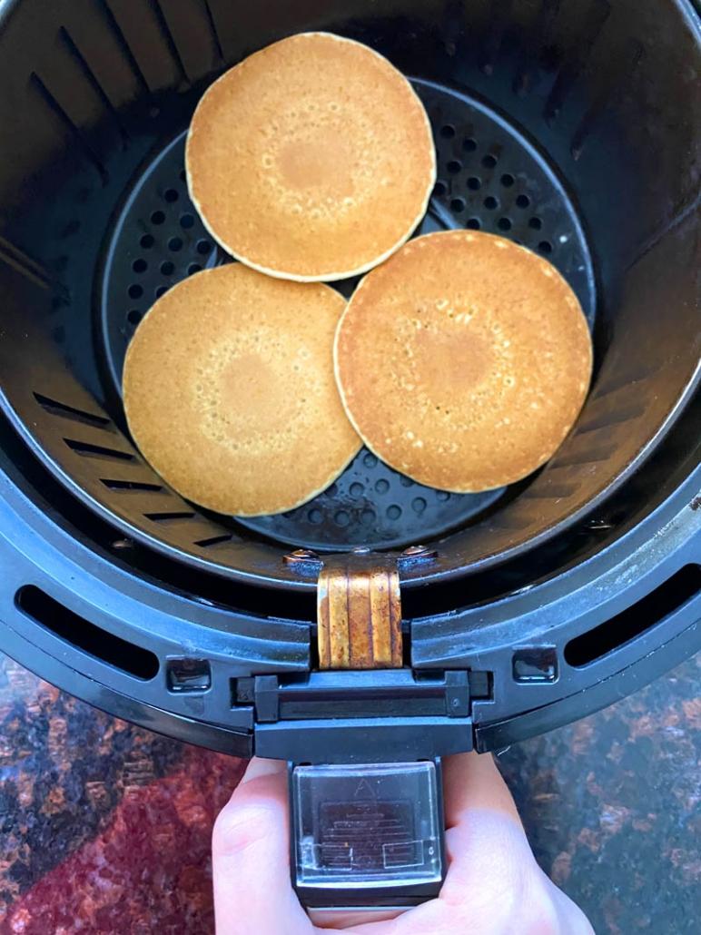 Air Fryer Frozen Pancakes