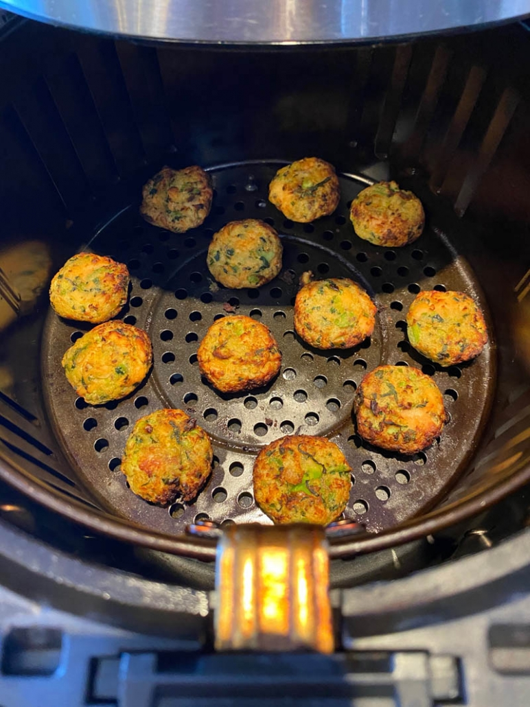 salmon bites in the air fryer