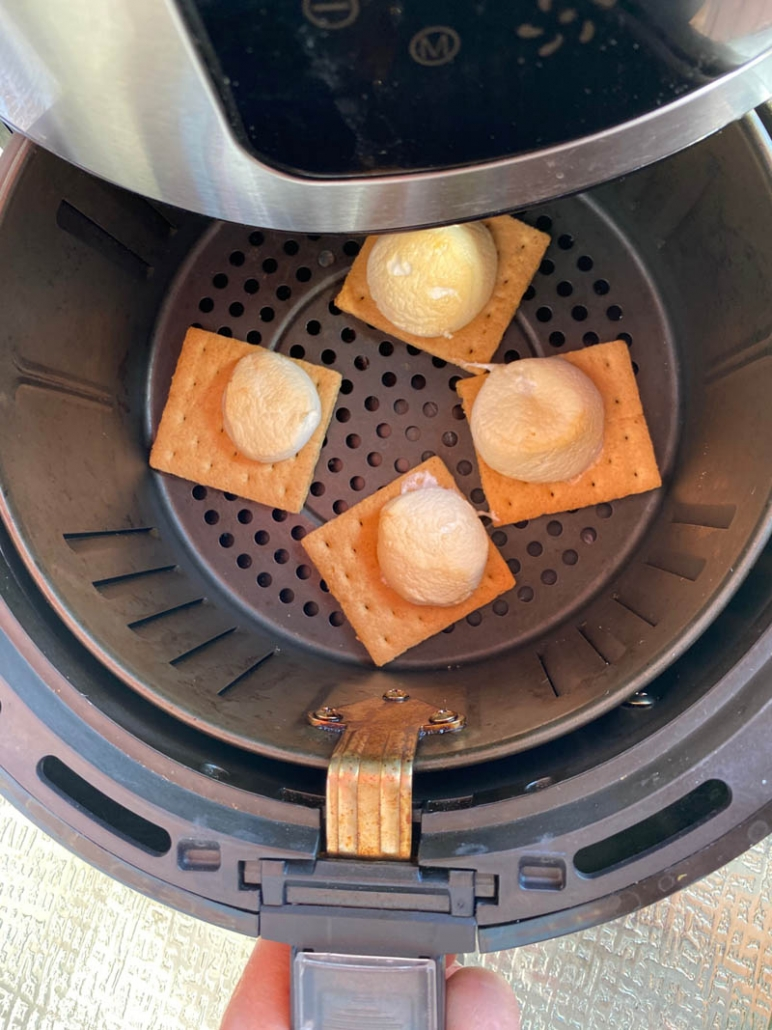 How to make s'mores in the air fryer