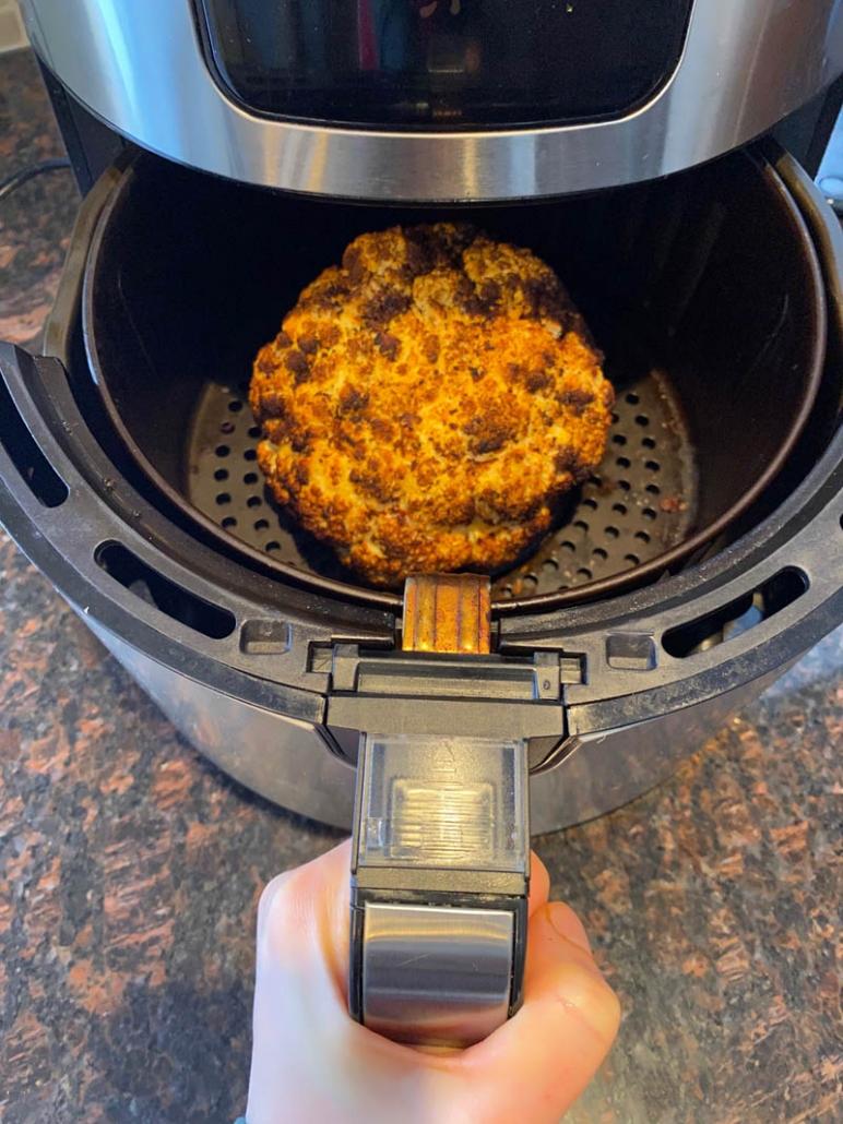 Air Fryer Roasted Cauliflower