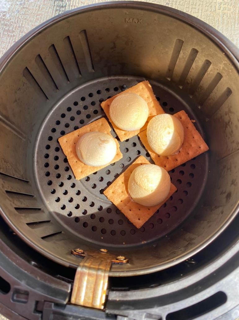 air fryer graham crackers marshmallows