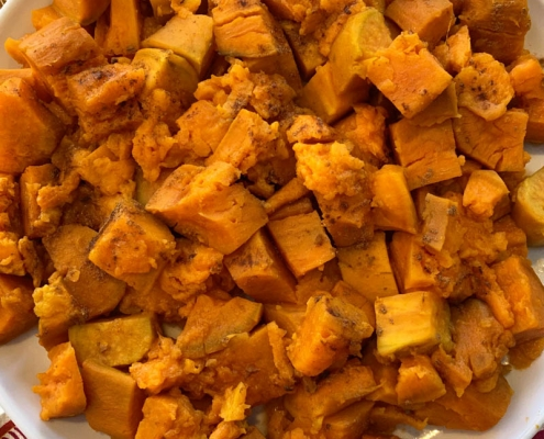 Cubed Sweet Potatoes Instant Pot
