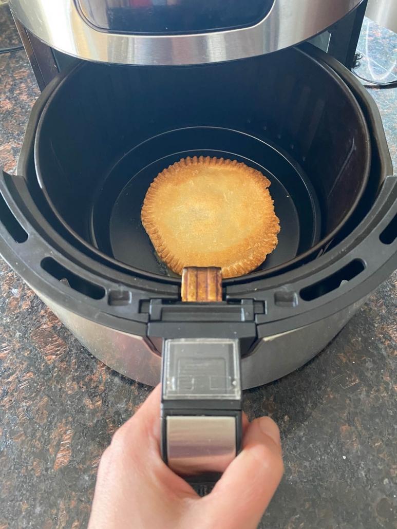 cooking pot pie in air fryer