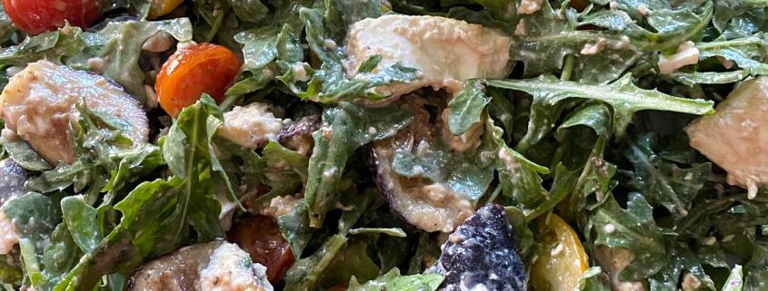 Arugula Fig Burrata Salad Recipe