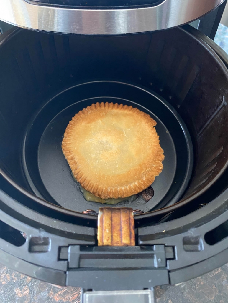 air fried chicken pot pie
