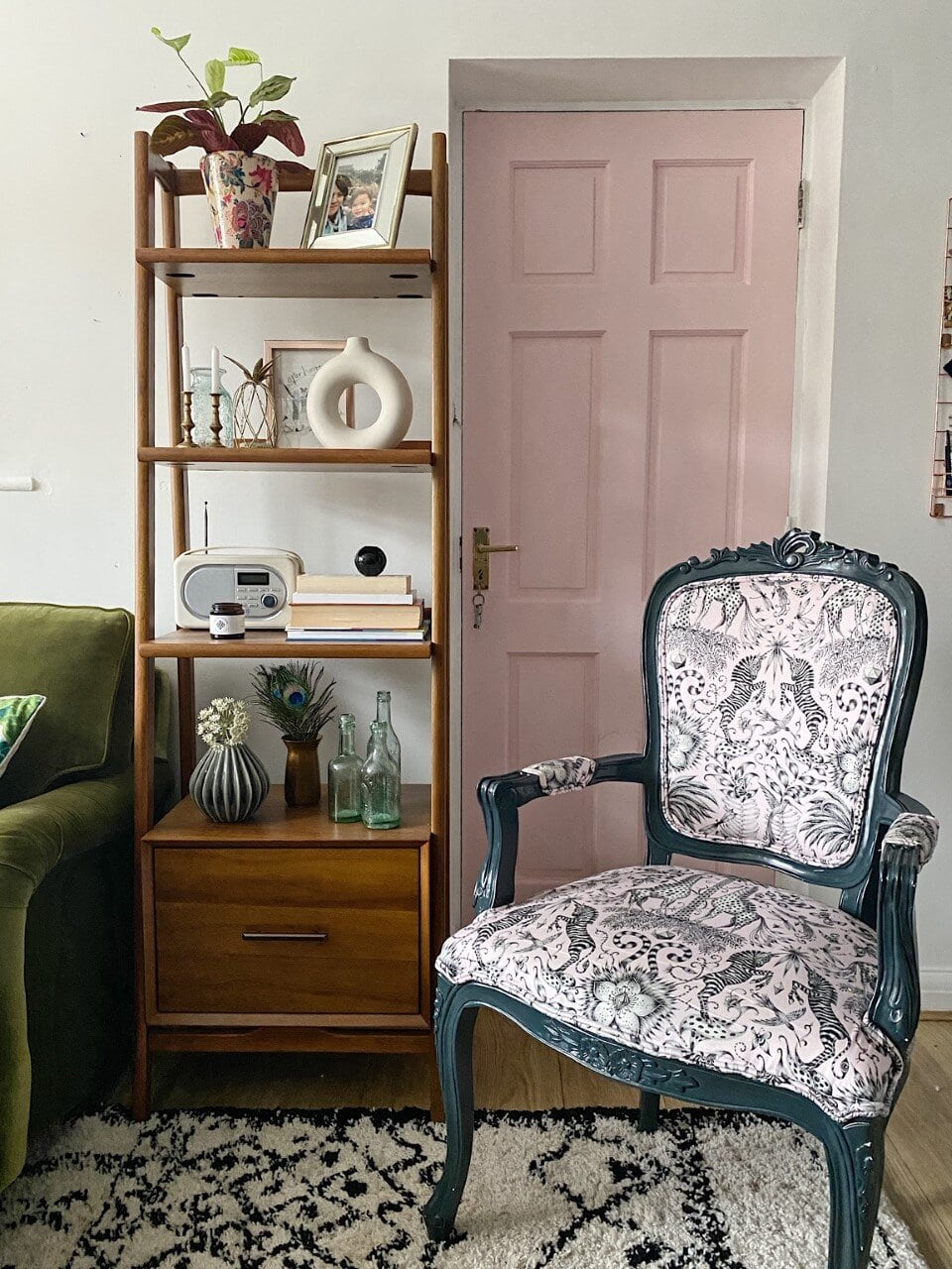 Emma J Shipley, Clarke & Clarke, maximalism, maximalist, colour, colour in the home, pattern, print, design, pattern design, nature, wilderie, wilderie collection, interior design, interiors, interior designer, soft furnishings, cushions, sofas, throws, colourful